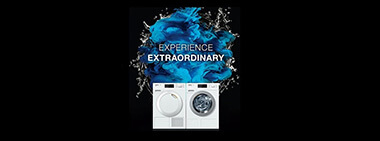 Save up to $800 on selected Miele laundry packages.